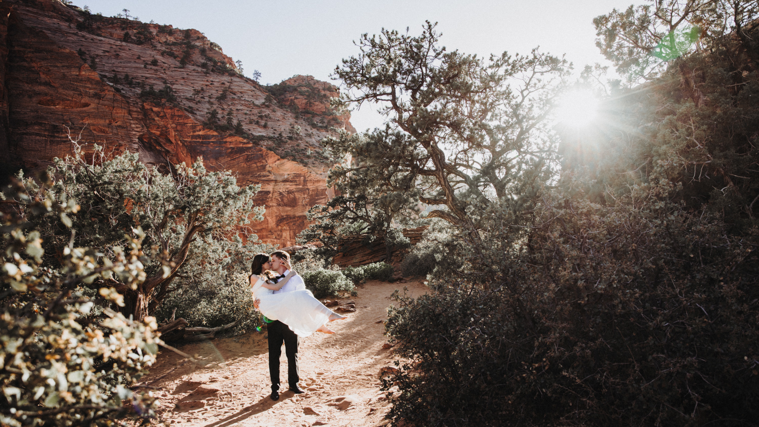 After Wedding Zion Park USA 13