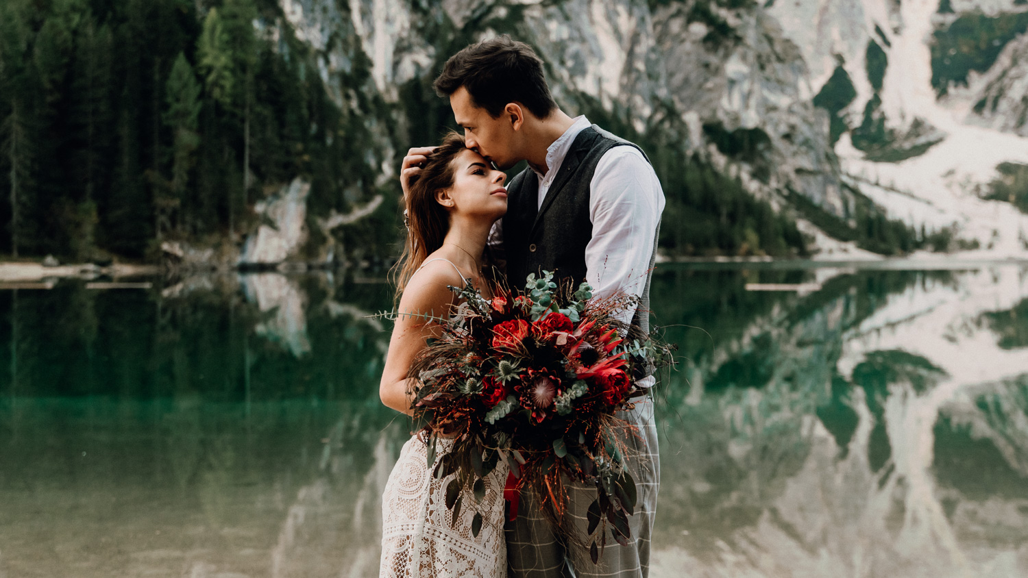 Lago Di Braies Wedding Photographer 20