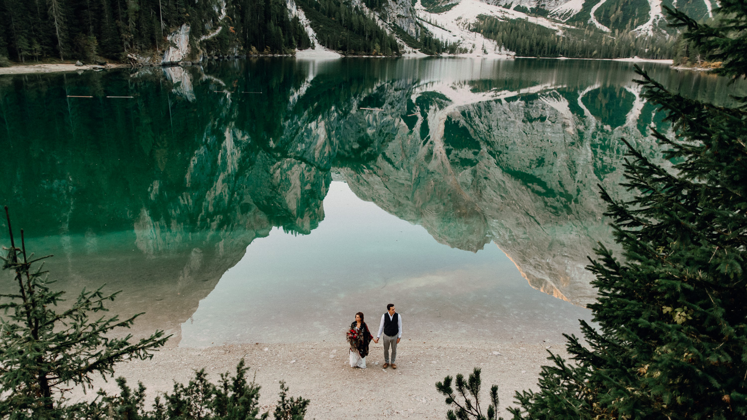 Lago Di Braies Wedding Photographer 26