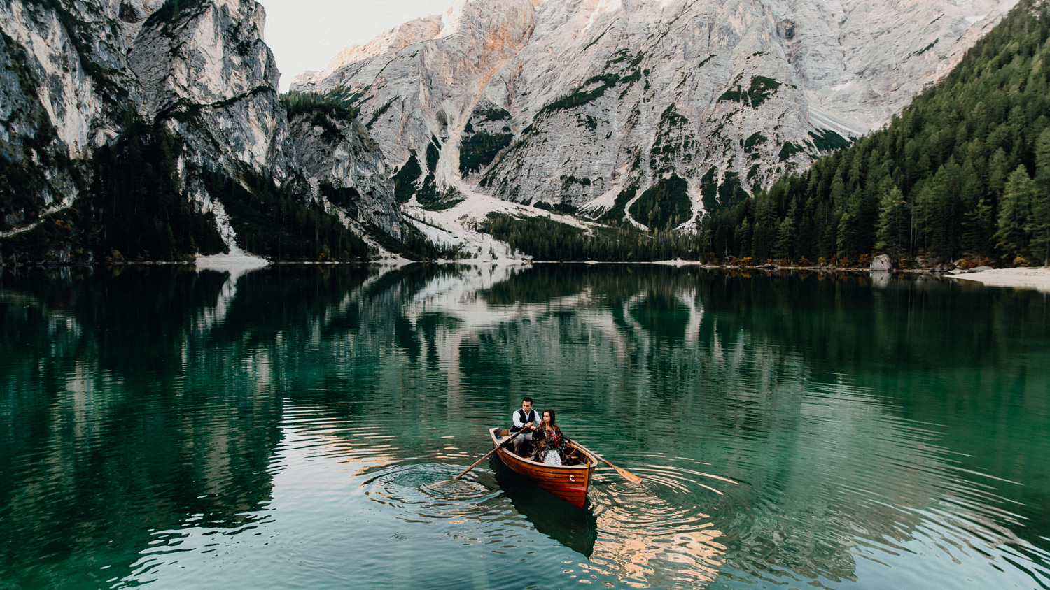 Lago Di Braies Wedding Photographer 35