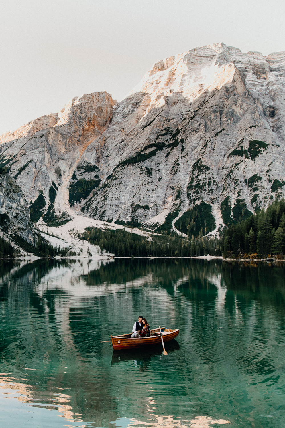Lago Di Braies Wedding Photographer 36